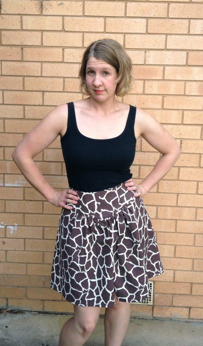 Amanda vs Jungle January Crescent Skirt