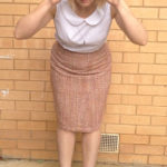 Amanda vs Simplicity 2154 Pencil Skirt