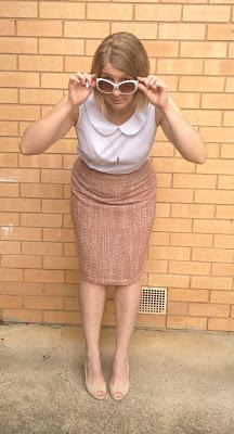 Amanda vs Simplicity 2154 Pencil Skirt