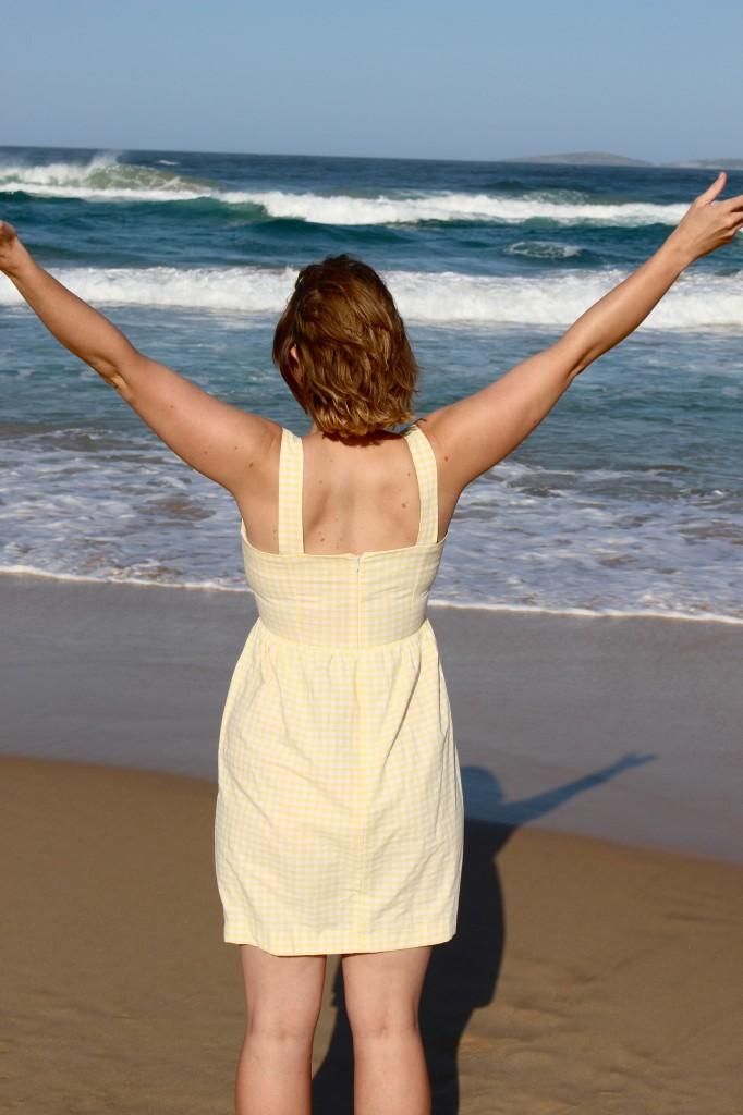 Back of Hazel Dress