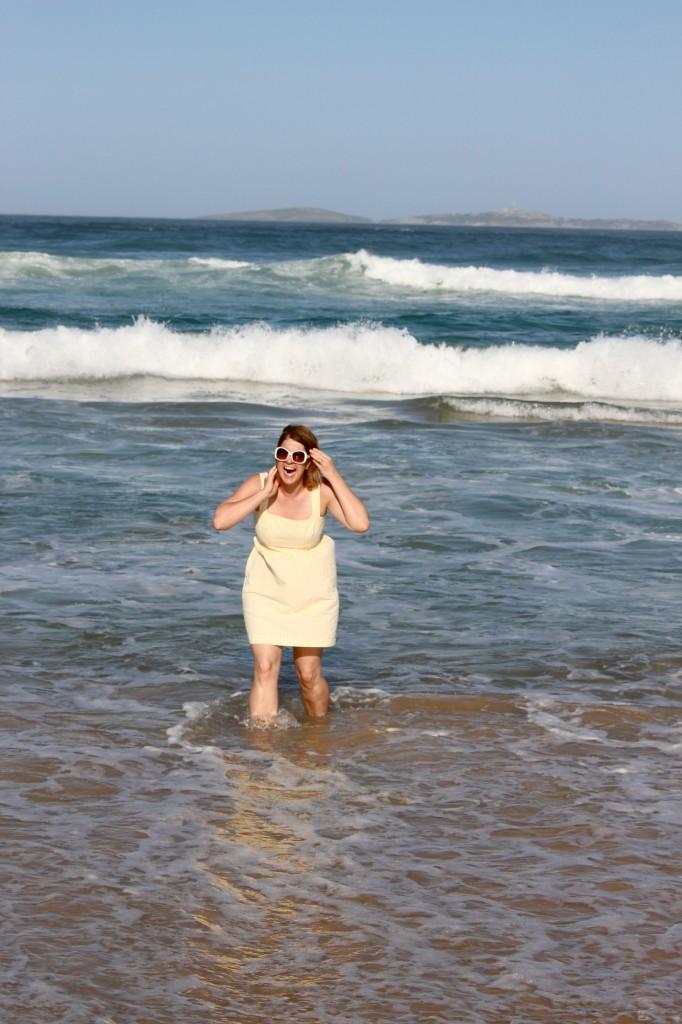 Colette Hazel Dress Water