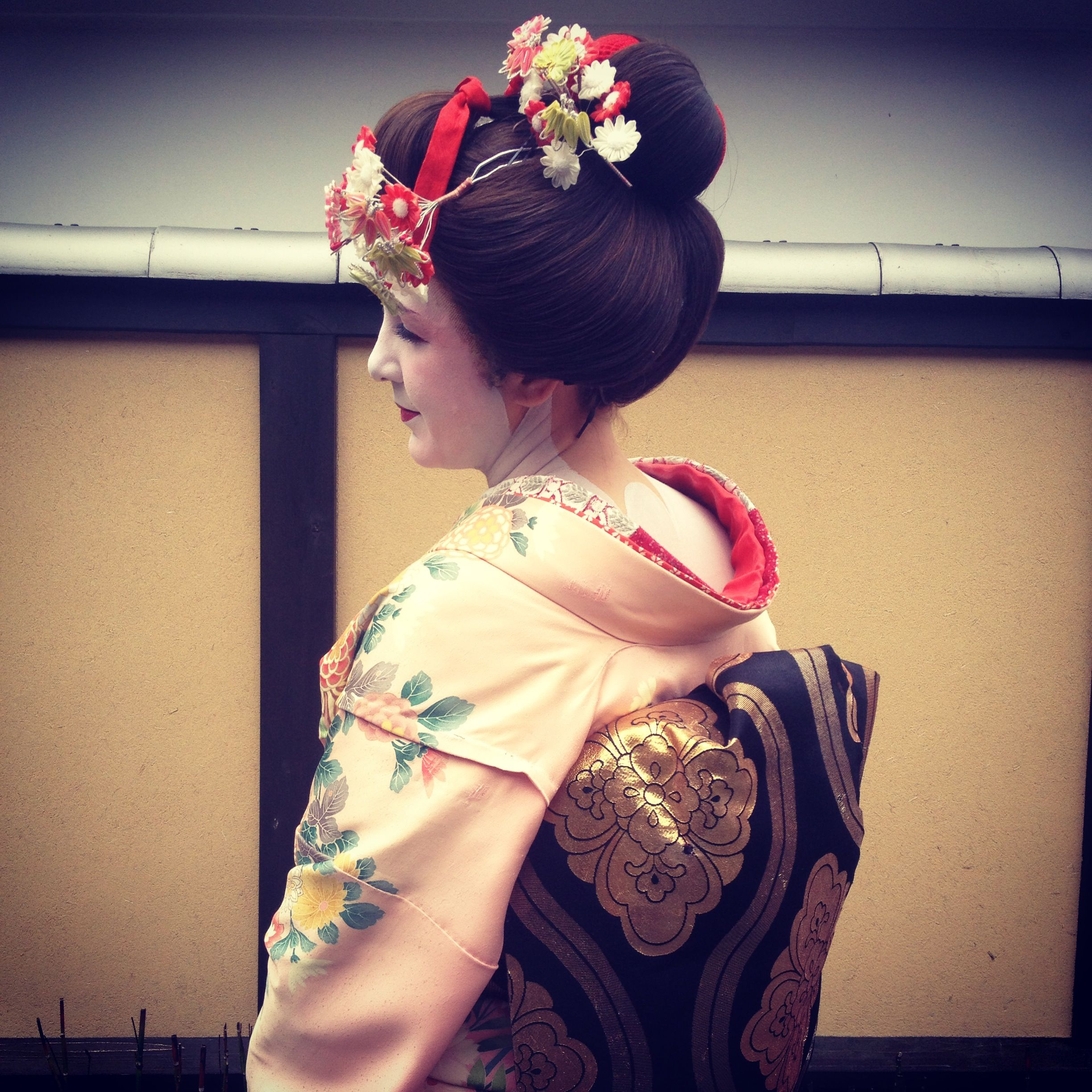 Maiko dress up in Kyoto!