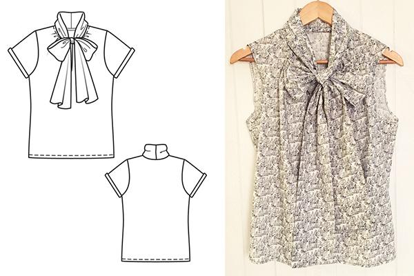 Burda-Tie-Front-Pattern