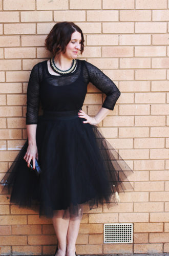 Amanda vs DIY Tulle Skirt