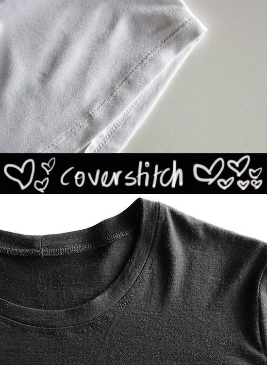 Coverstitch-Hem