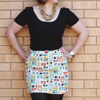 Amanda vs Grainline Moss Skirt