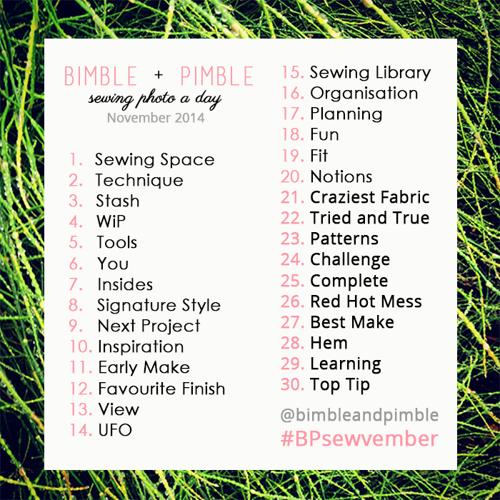 Sewing, Sewing Photo Challenge, Sewing Photo A Day, Sewvember, Sewcialist, Sewcialists