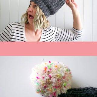 Amanda vs Looking Ahead Beanie