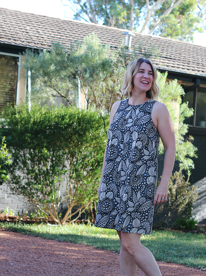 Bondi Dress, Tessuti Patterns, Tessuti Fabric