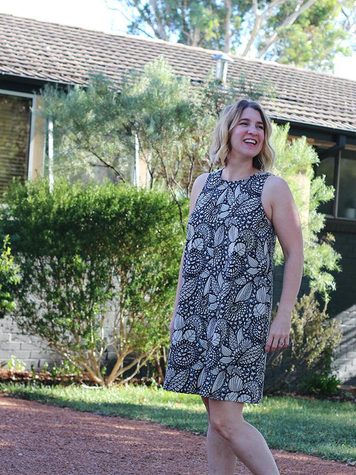 Bondi Dress, Tessuti Patterns, Tessuti Fabric