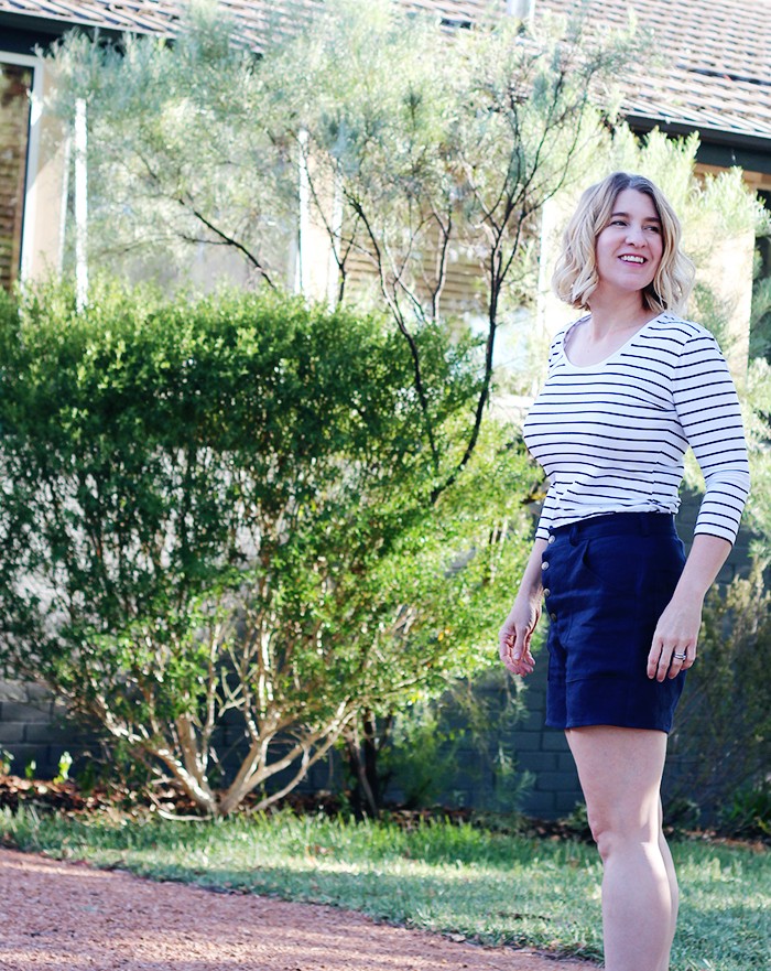 Lander Pants, Lander Shorts, True Bias, Lander Pants Review, Lander Shorts Review, Sewing,. Linen Shorts, DIY Wardrobe, Canberra Sewing Blogger, Canberra Sewing, Sewing Blogger, Me Made Wardrobe, Sewcialist, The Fabric Store, Sewcialists, Curvy Sewing