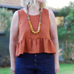 Amanda vs Peplum Top