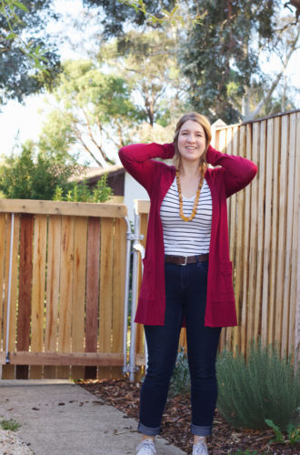 Amanda vs Blackwood Cardigan