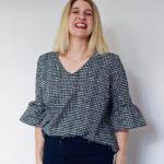 Amanda vs Ruffle Sleeve Top