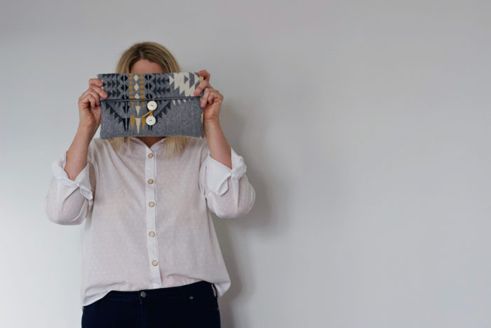 Amanda vs Pendleton Wool Clutch