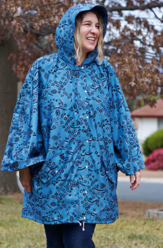 Amanda vs Burda Rain Cape