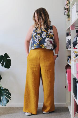 Amanda vs Calder Pants