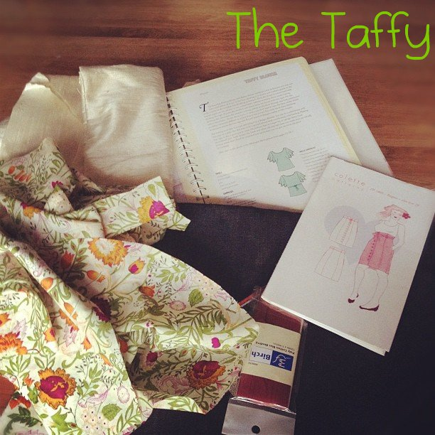 Taffy Blouse, Colette Patterns, Easy to Sew, DIY