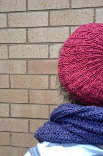 Amanda vs Knitting