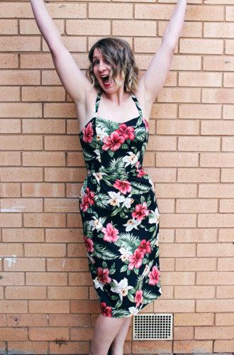 Amanda vs The Tiki Dress