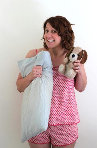 Amanda vs Lakeside Pyjamas