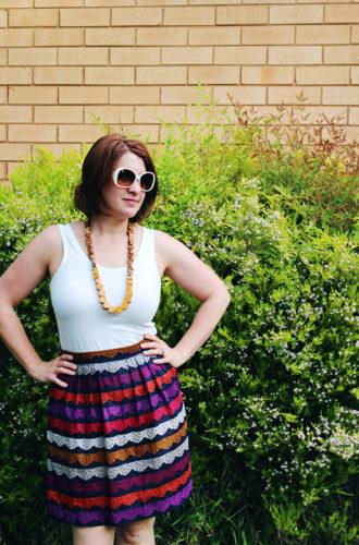 Amanda vs Zinnia Skirt