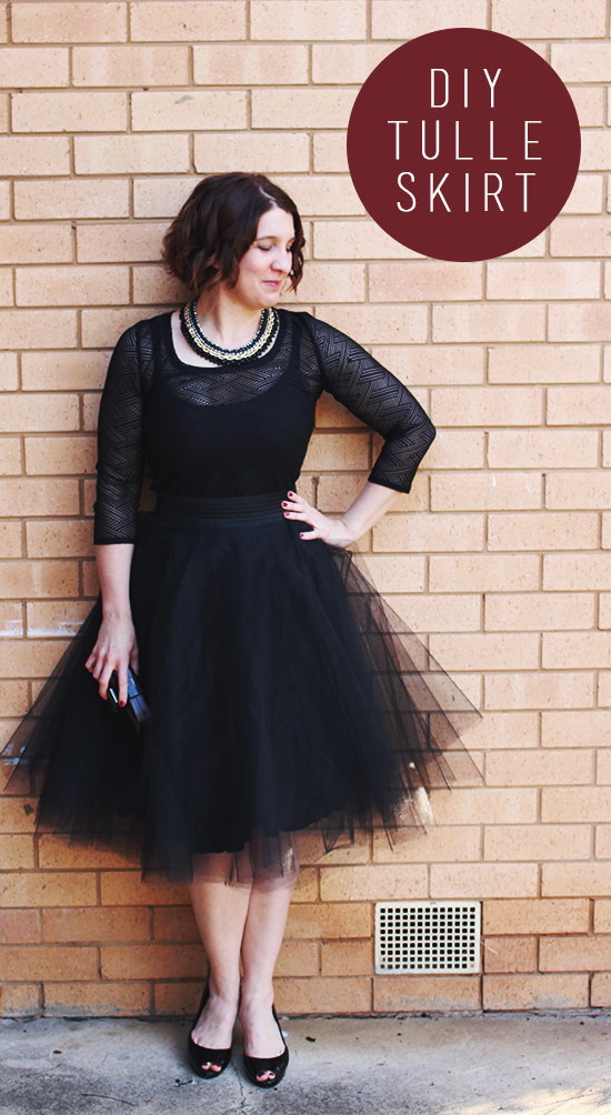 DIYTulle Skirt To Lace Dress