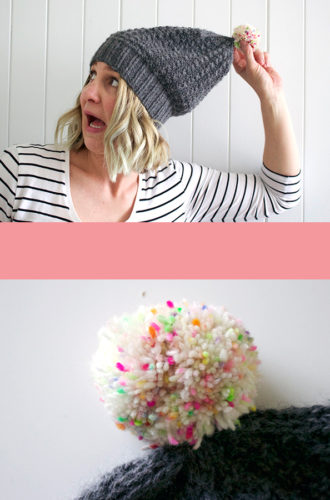 Amanda vs Looking Ahead Beanie