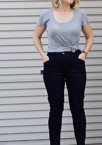 Amanda vs Safran Jeans
