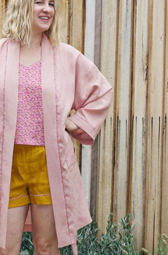 Amanda vs Luxe Sleepwear Set