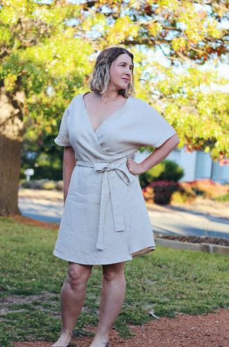 Amanda vs Bellbird Wrap Dress