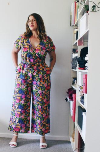 Amanda vs floral Zadie jumpsuit