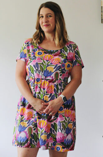 Amanda vs floral Hinterland Dress